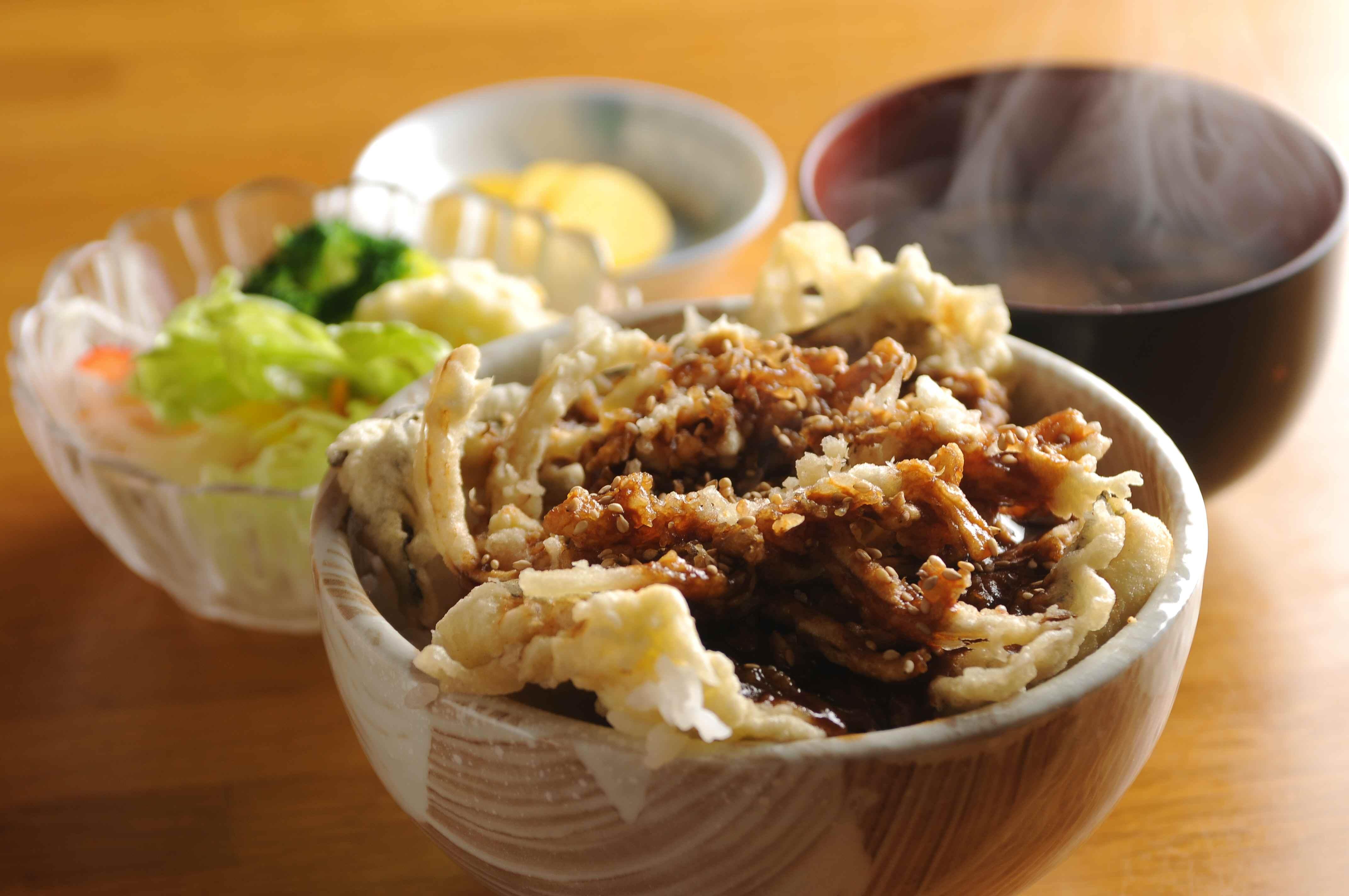 みけ丼(穴子味噌丼)