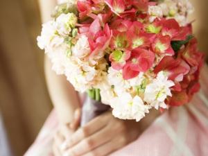 幸せ結婚 花時計